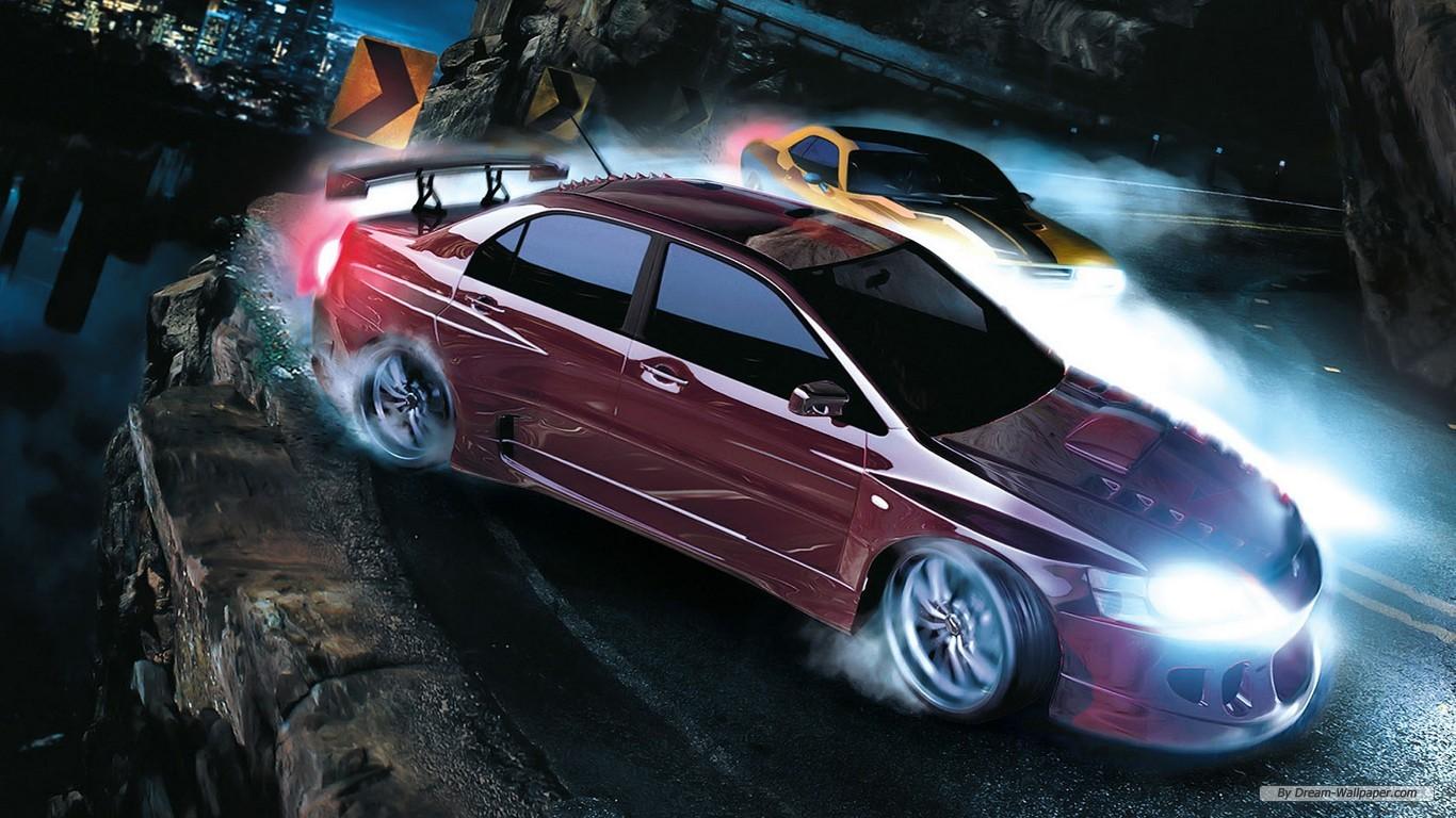 Racing Car Games Hd Wallpaper: Game Wallpapers 1366x768