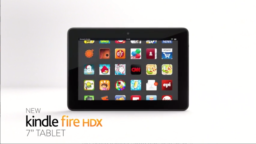 Kindle Fire HDX 7 16GB Tablet Wifi New Staples   HD Wallpapers 890x501