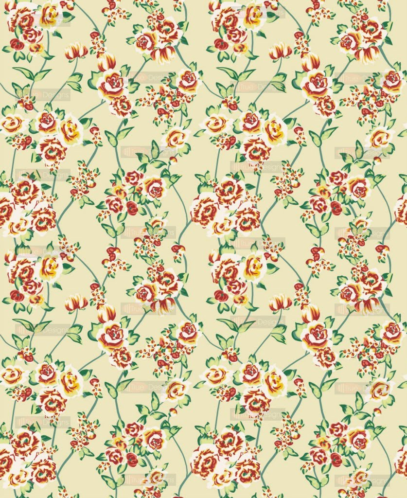 44 Antique Floral Wallpaper Patterns On Wallpapersafari