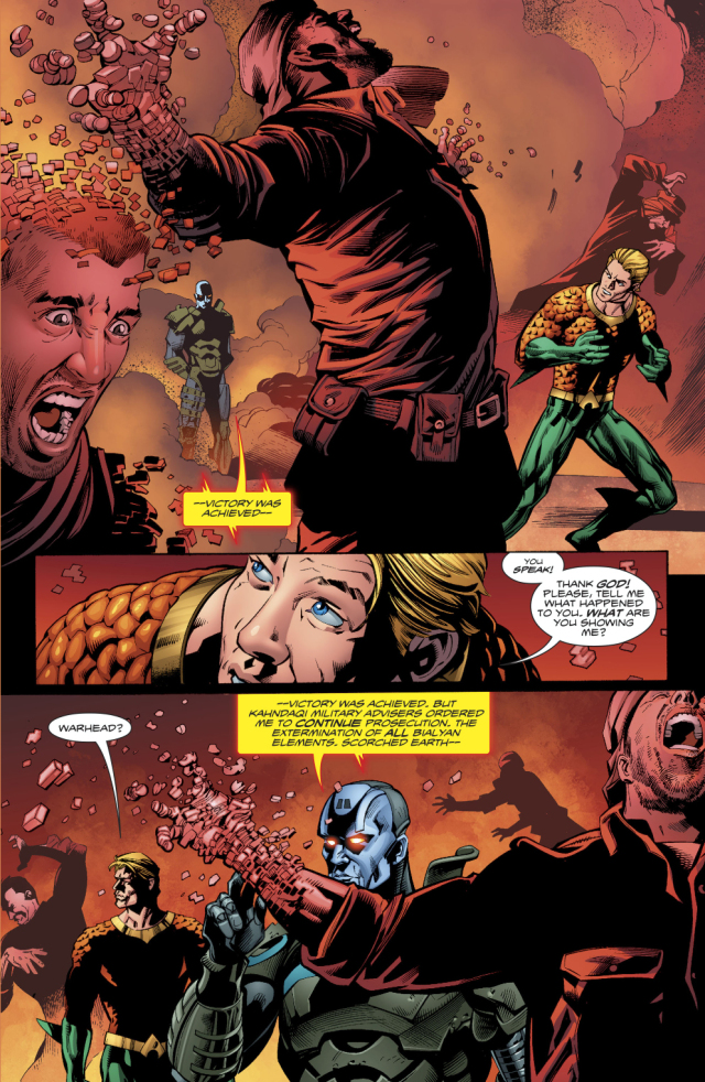 Aquaman Learns Warheads Background Story Comicnewbies 640x982
