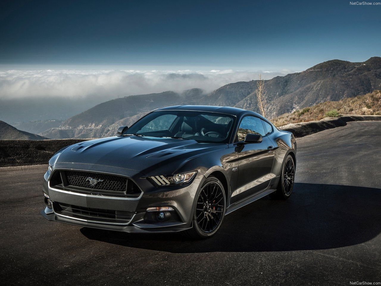 Ford Mustang GT 2015   Tire on Road 1280x960