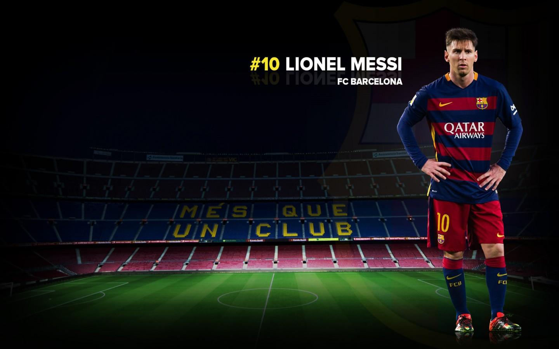 Lionel Messi FC Barcelona 20152016 Wallpaper   Football Wallpapers HD 1440x900