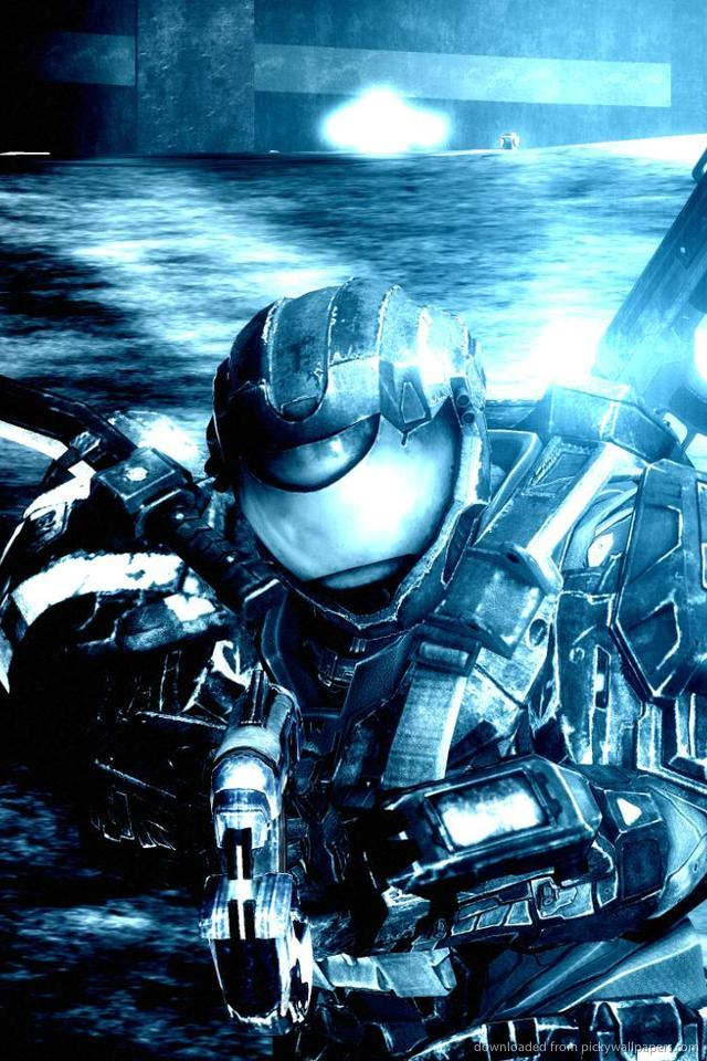 Master Chief Halo 4 640x960 Iphone Hd Wallpaper 640x960