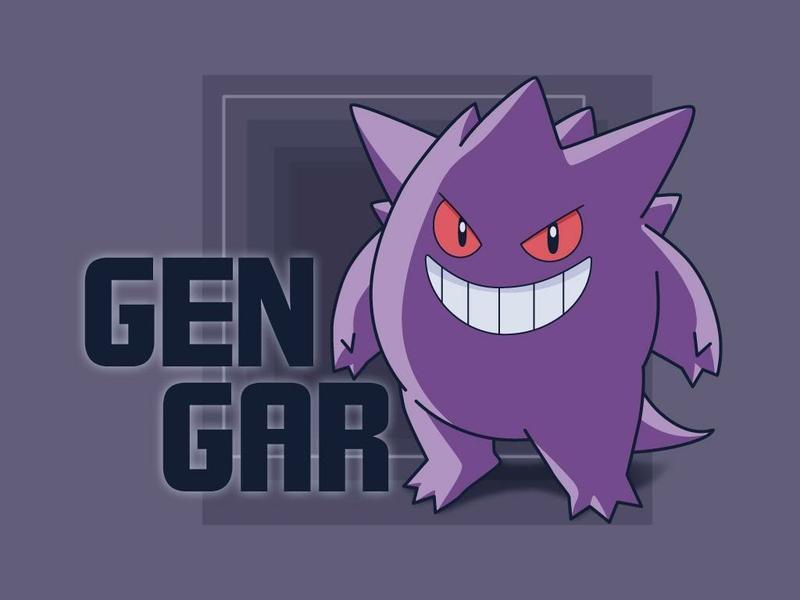 Gengar Ghost Pokemon Wallpaper 800x600