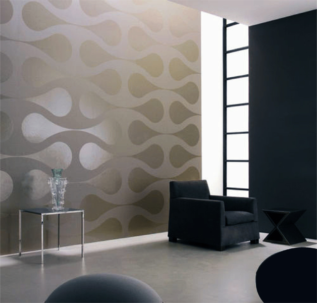 Pattern Play Contemporary Round Geometric Shapes Clean Look Modern 628x600