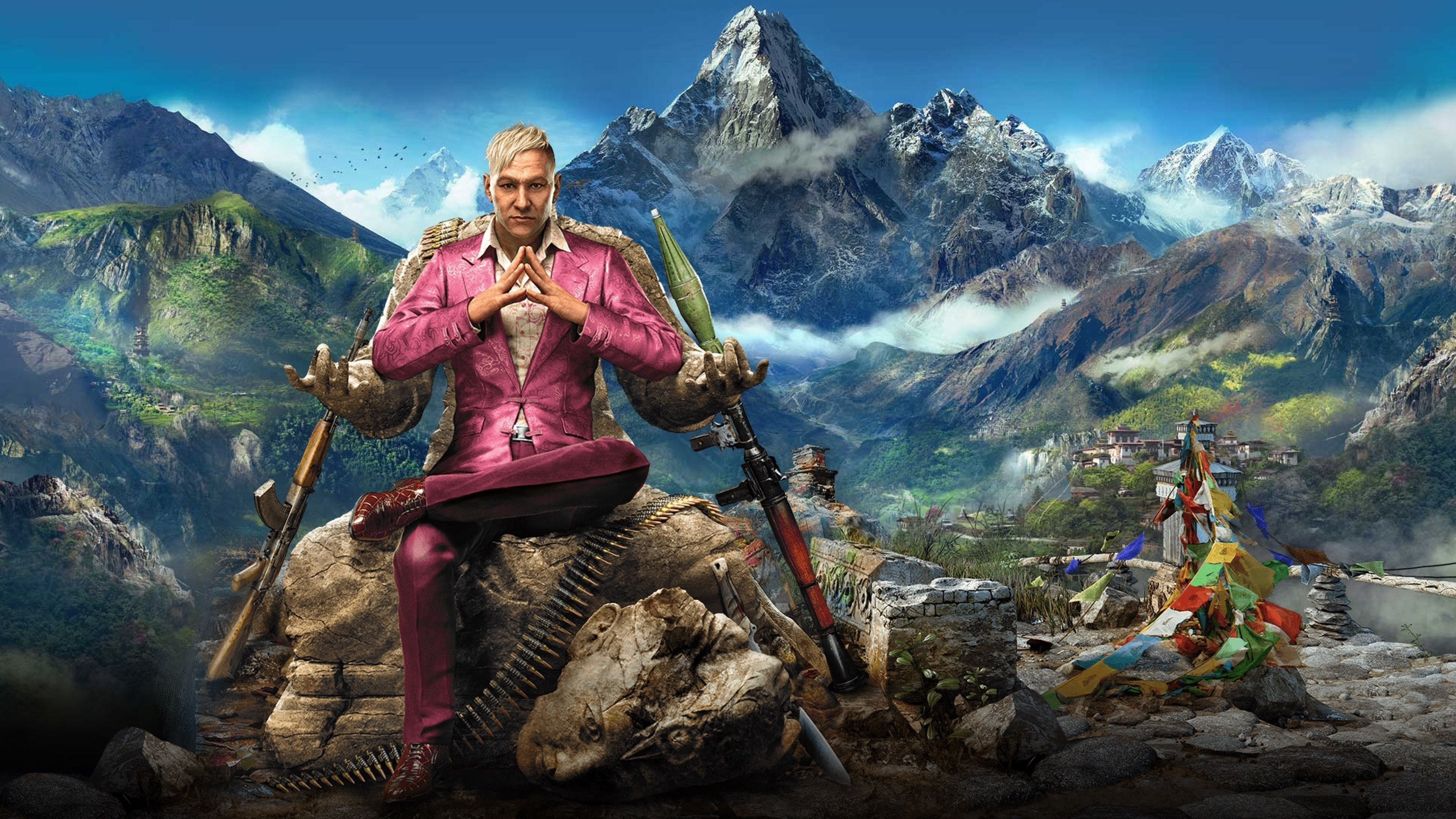 Far Cry 4 Wallpaper: Far Cry 4 4K Wallpaper