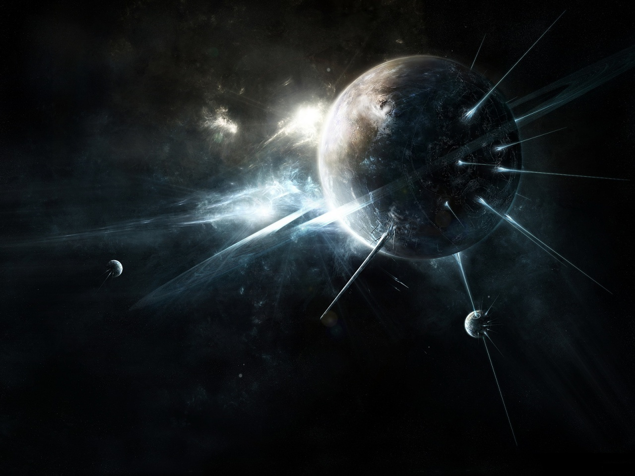 Dark Space Abstract Wallpapers HD Wallpapers 1280x960