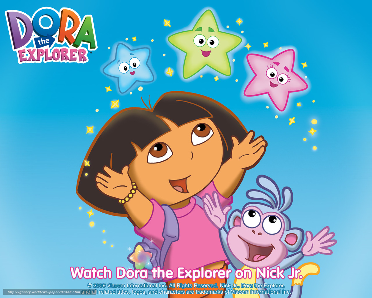 Download wallpaper Dora the Explorer film 1200x960