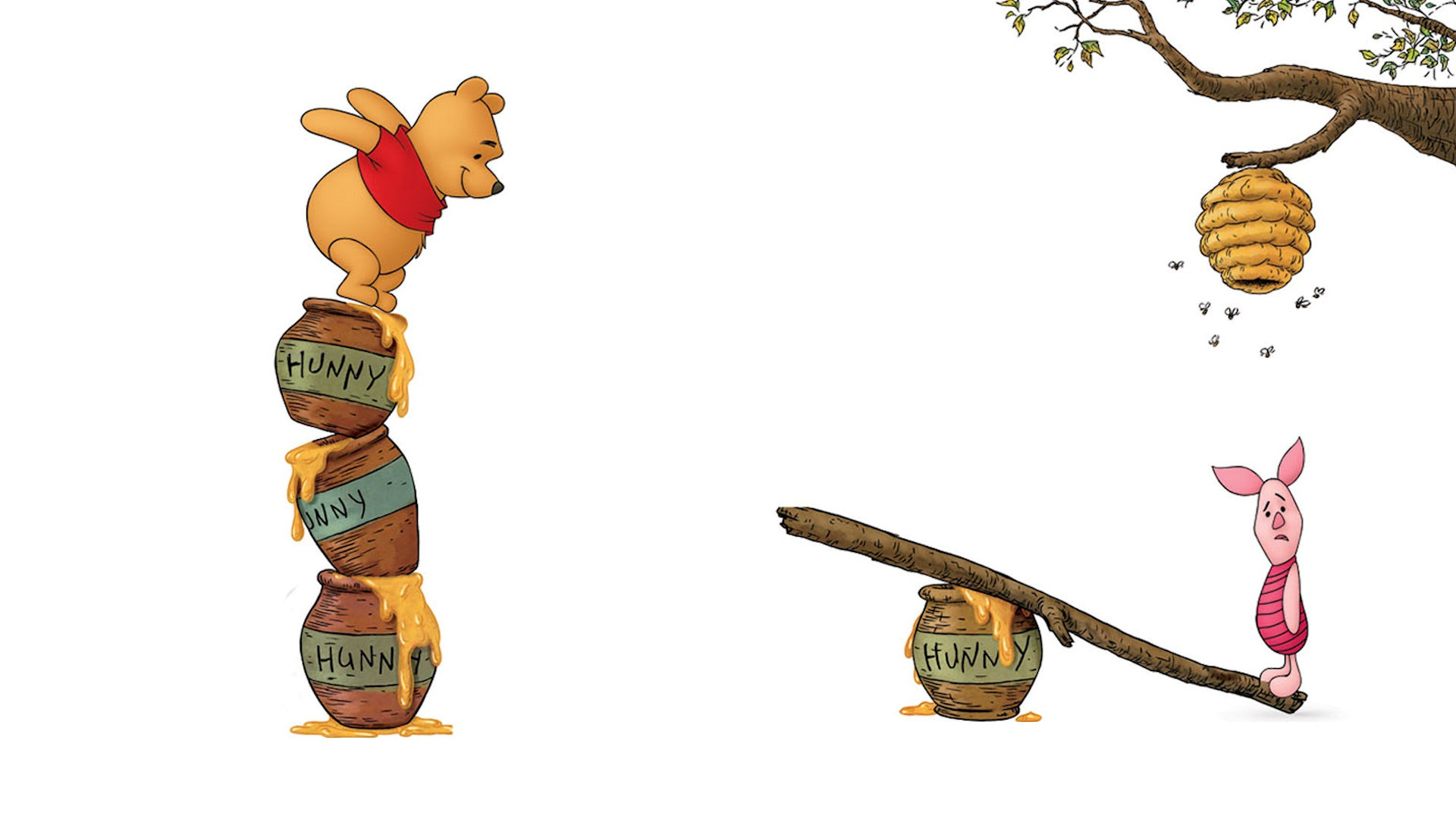 Classic Winnie The Pooh Wallpaper