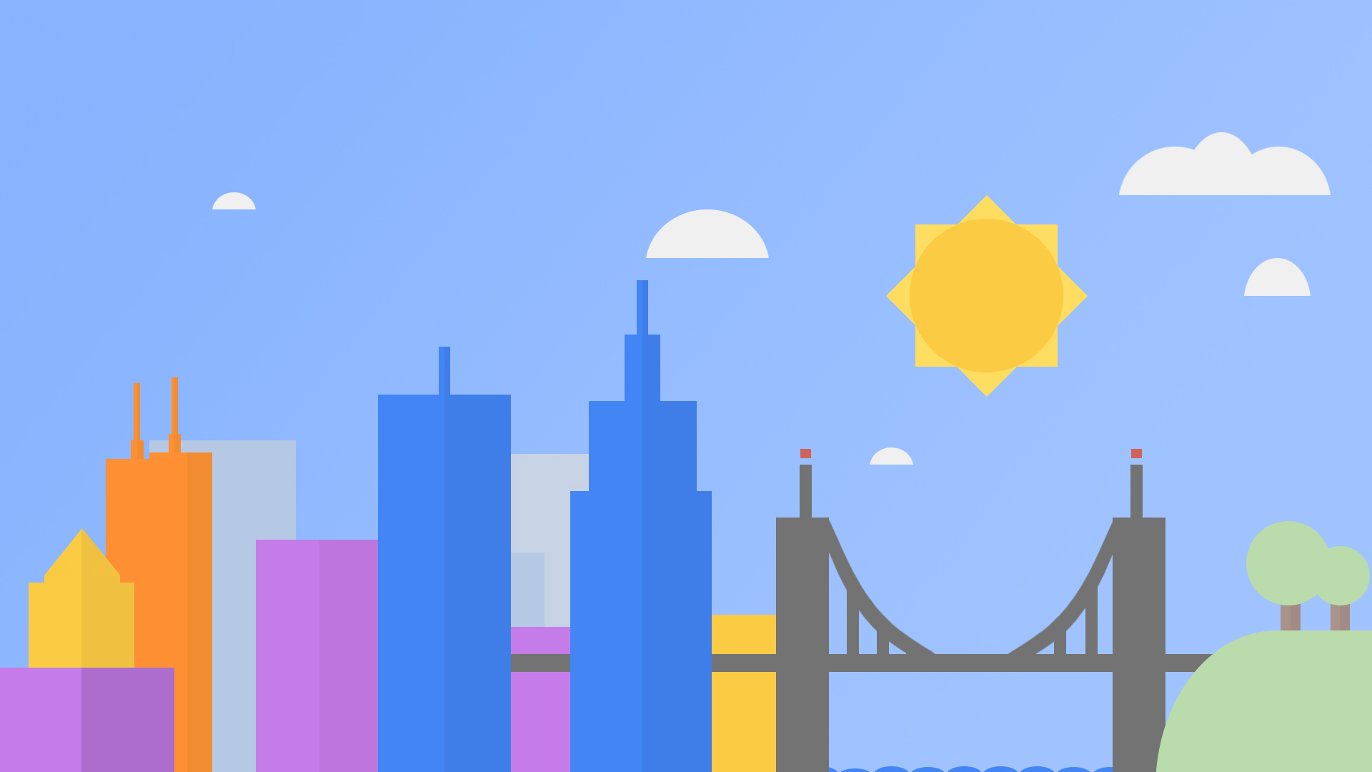 Google Now Wallpaper For Iphone Google inspired wallpaper by 1920x1080