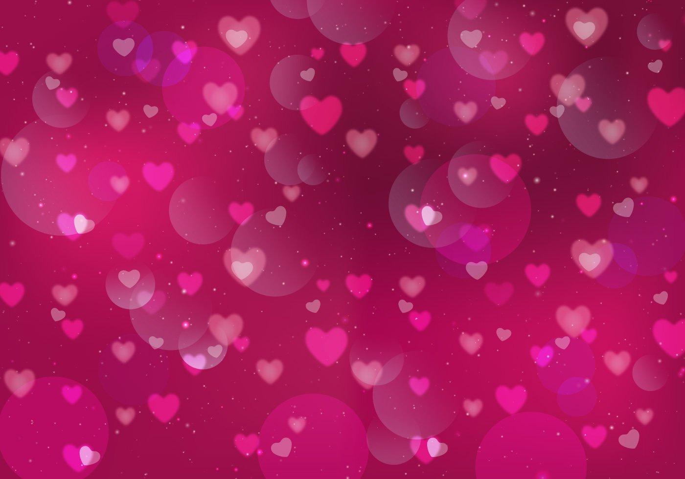 pink heart backgrounds wallpapersafari