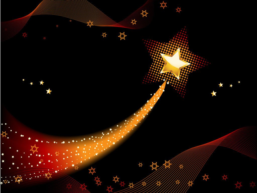 Shooting Star Backgrounds 1024x767