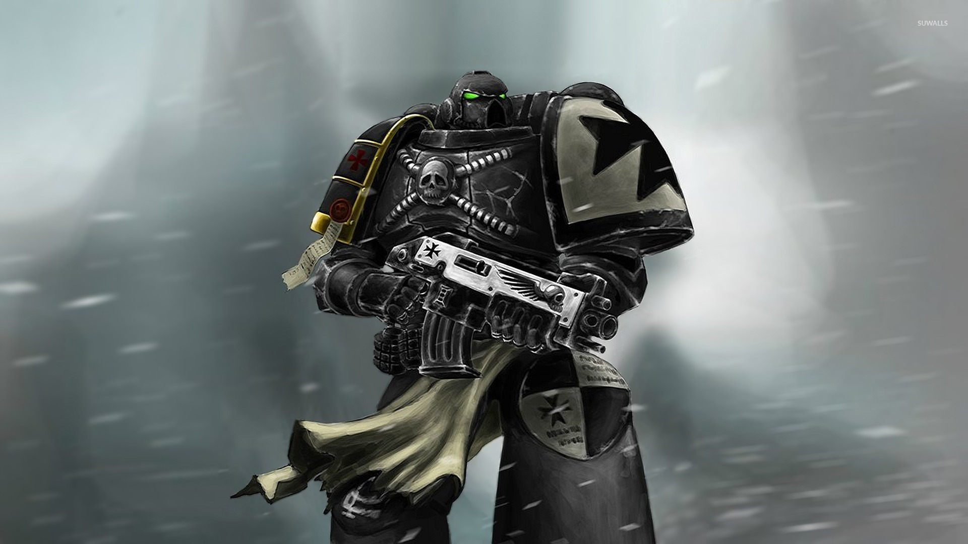 49 Black Templars Wallpaper On Wallpapersafari
