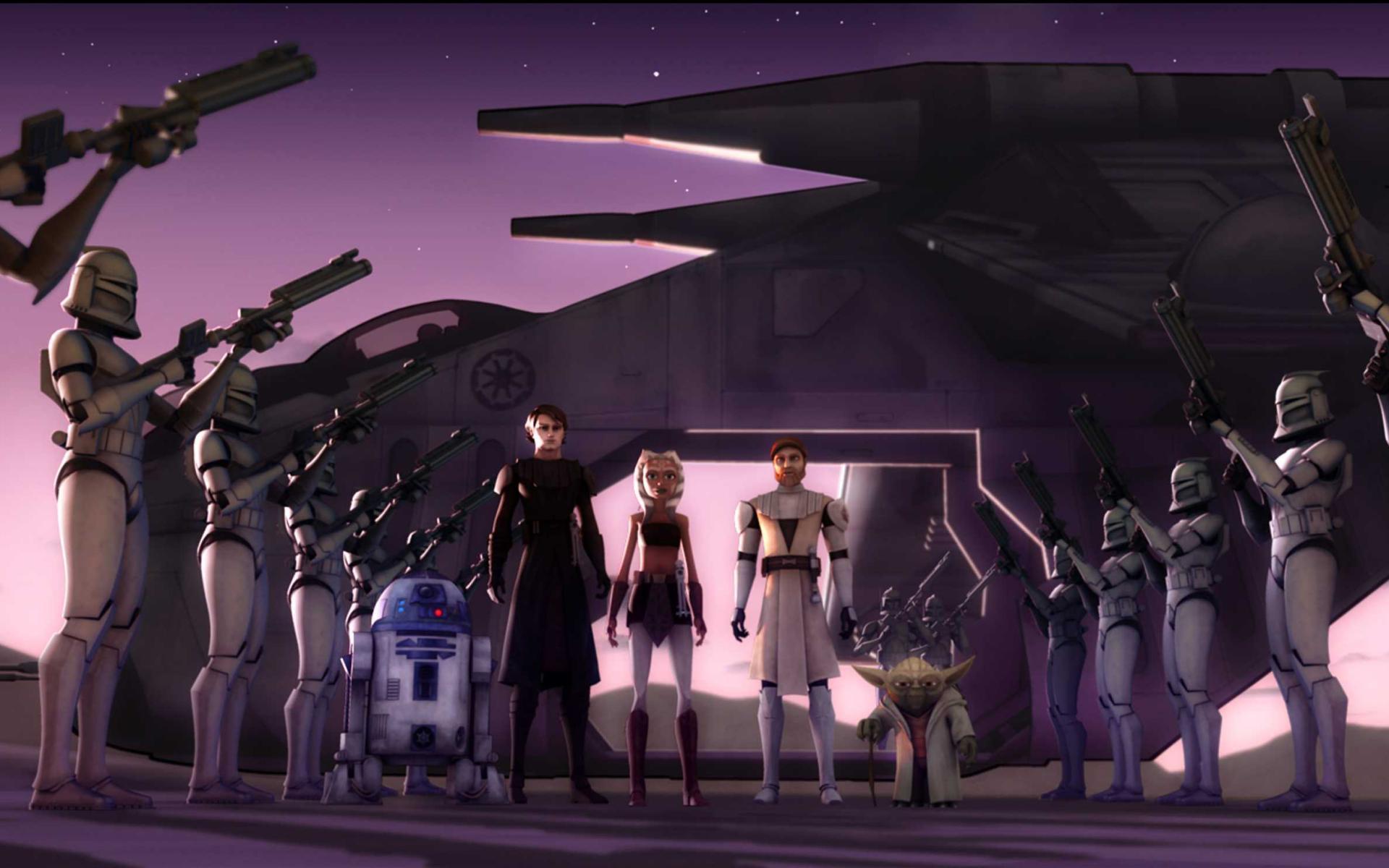 Star Wars Clone Wars Wallpapers 1920x1200