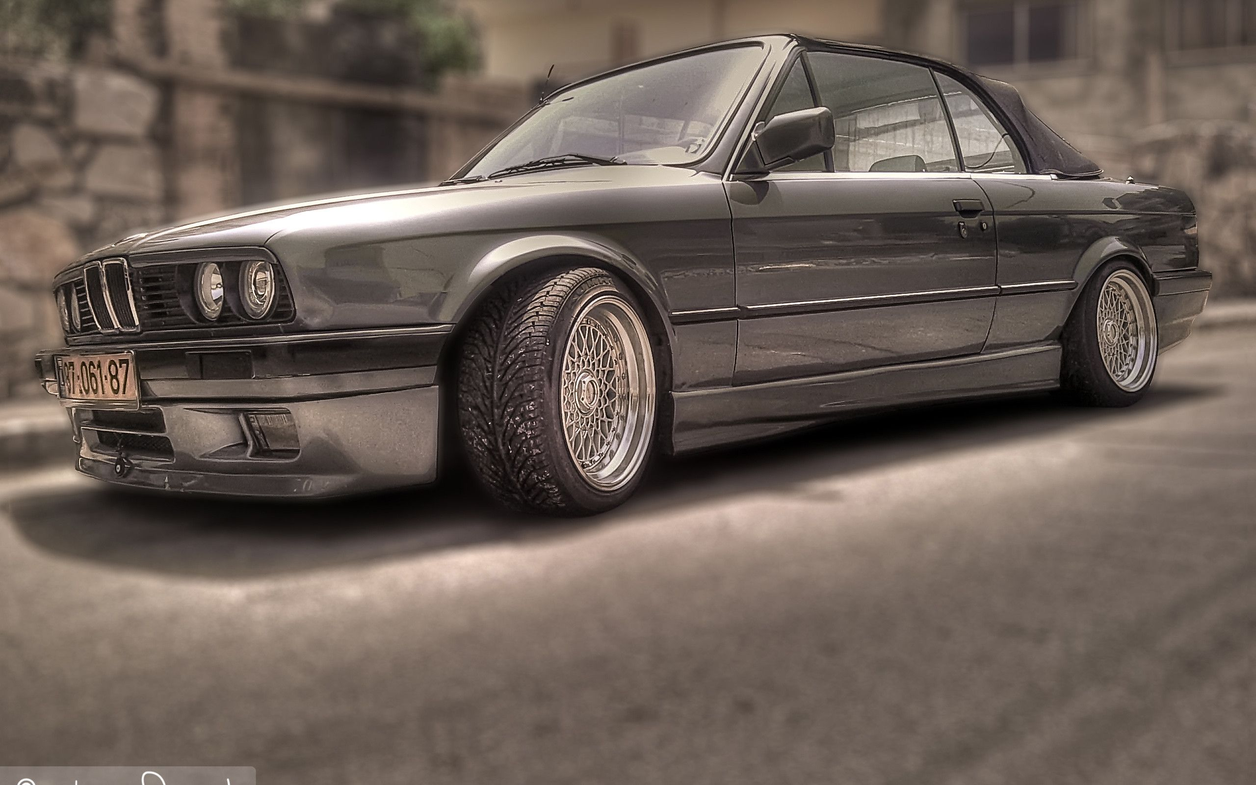 Images For Bmw E30 Wallpaper Black 2560x1600