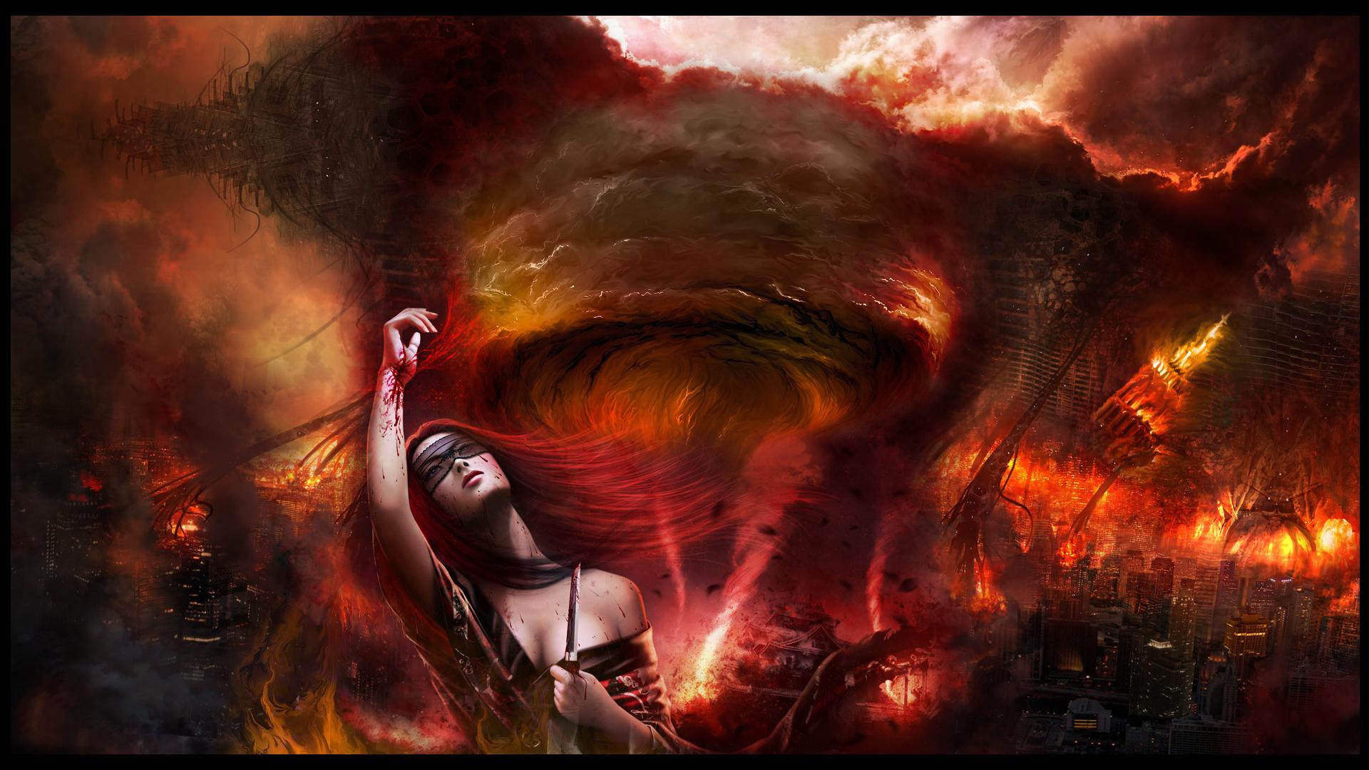 Download desktop wallpaper Blood Ritual Armageddon 1920x1080