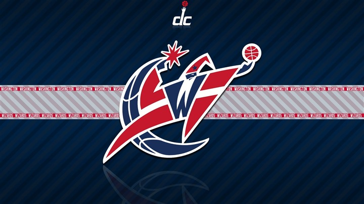 NBA Washington Wizards team logo widescreen HD wallpaper   Wallpaper 720x405