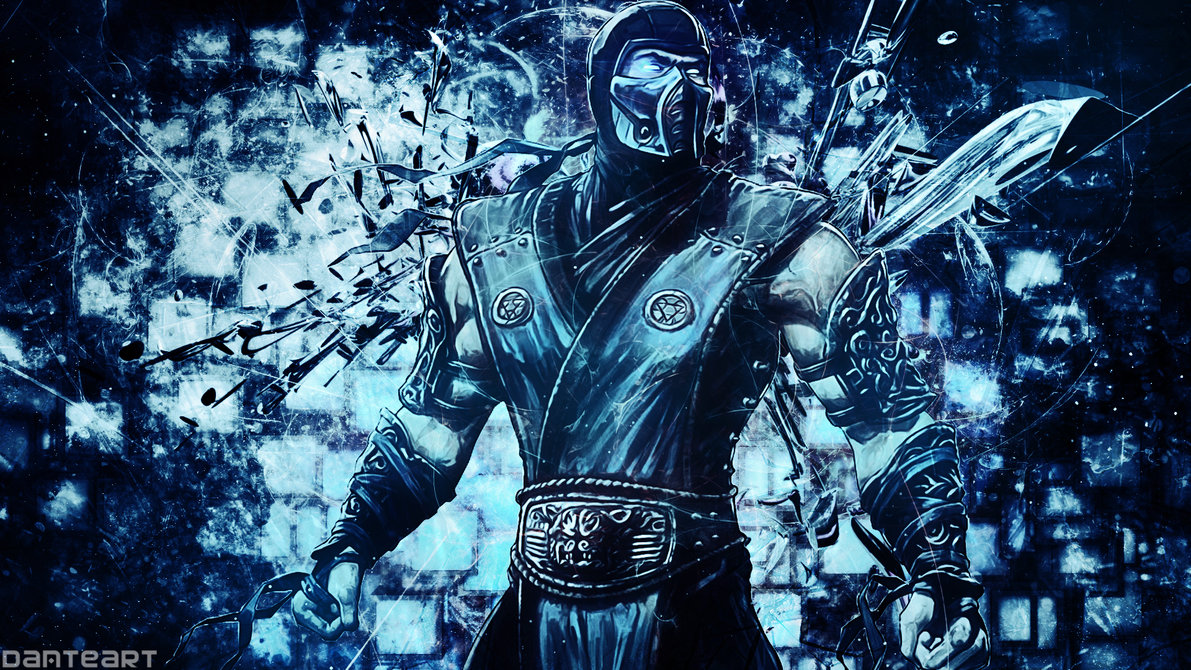Showing Gallery For Sub Zero Mortal Kombat X Wallpaper 1191x670