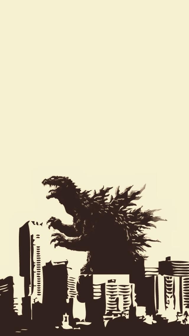 Godzilla iPhone 5 Wallpaper 640x1136 640x1136