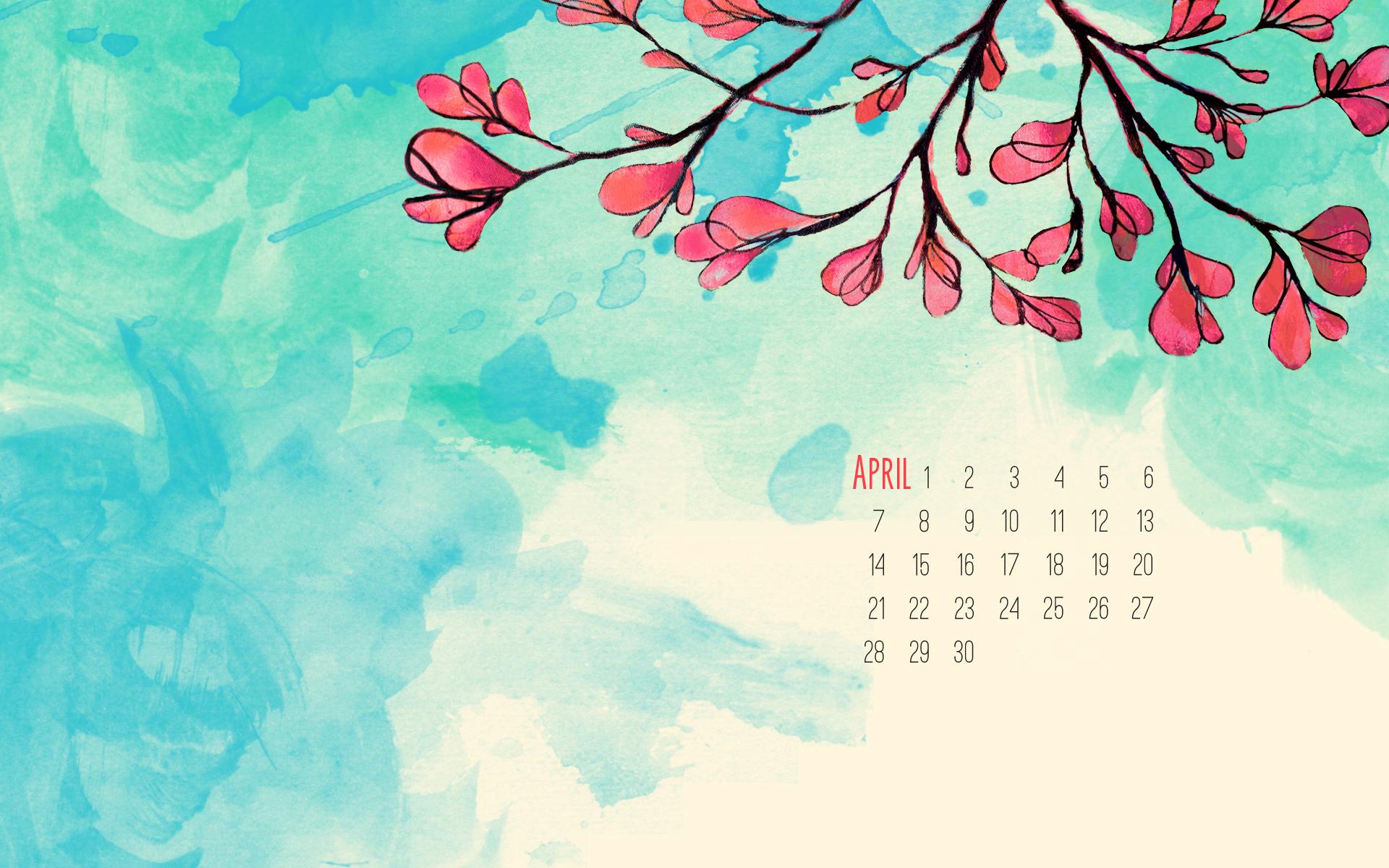 April Wallpaper April desktop wallpaper 1920x1200
