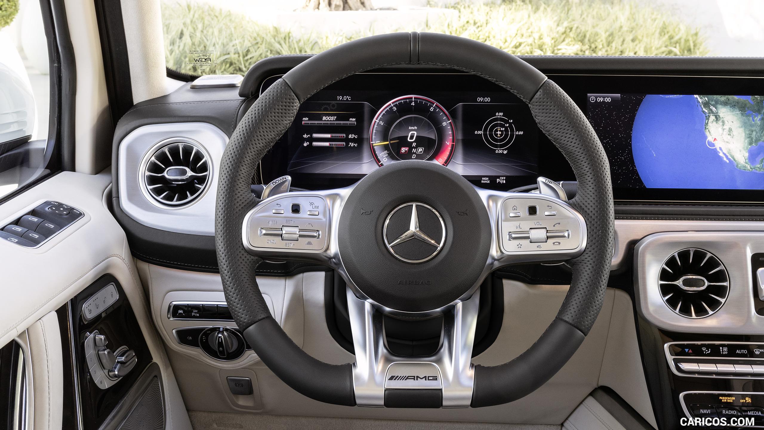 2019 Mercedes AMG G63 Mercedes AMG G 63 Exterieur designo 2560x1440