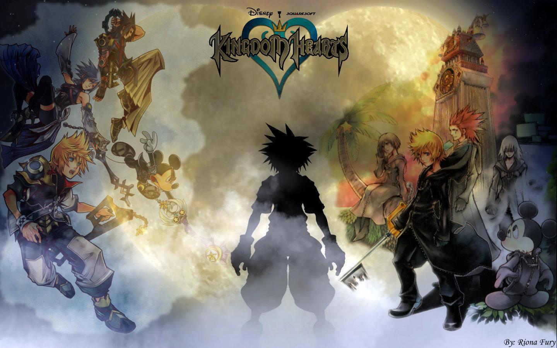 kingdom hearts   Kingdom Hearts Wallpaper 19106984 1440x900