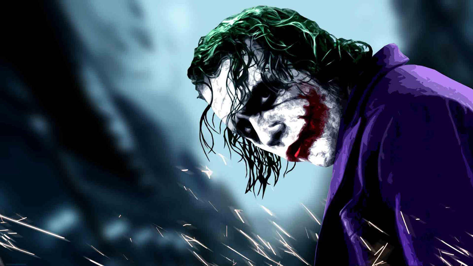 Heath Ledger Joker HD Wallpapers 1600x900