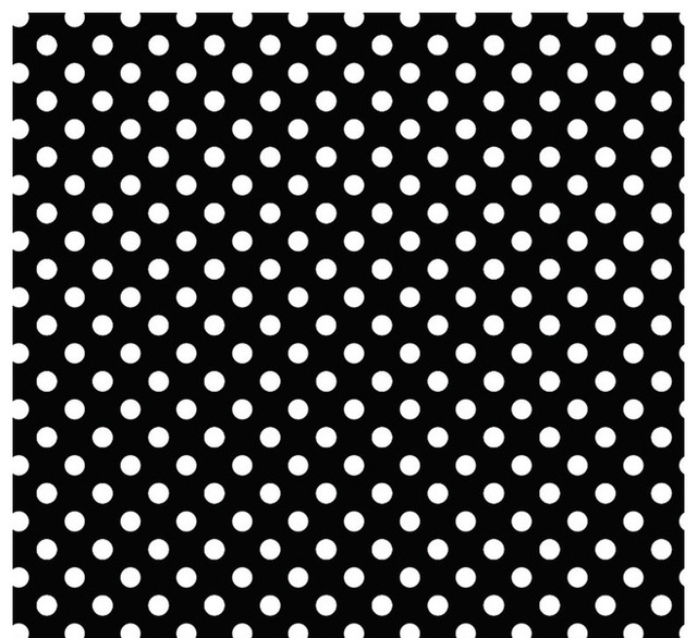 Black and white dot wallpaper wallpapersafari for Black and white polka dot decorations
