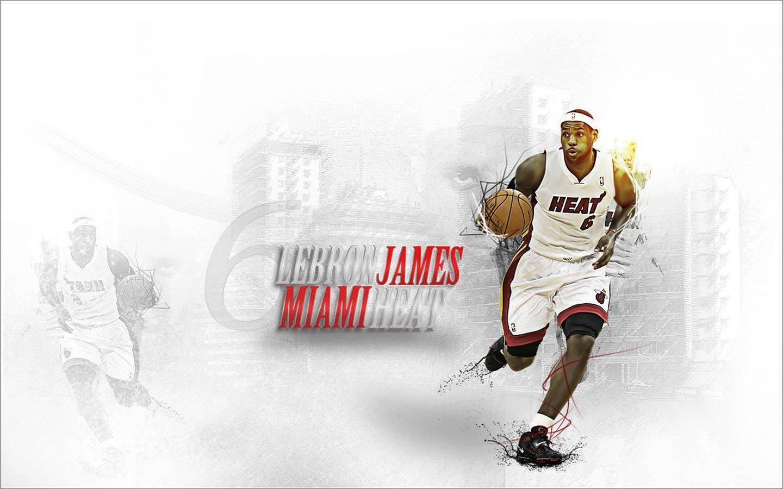 lebron james miami heat widescreen photo 1440x900
