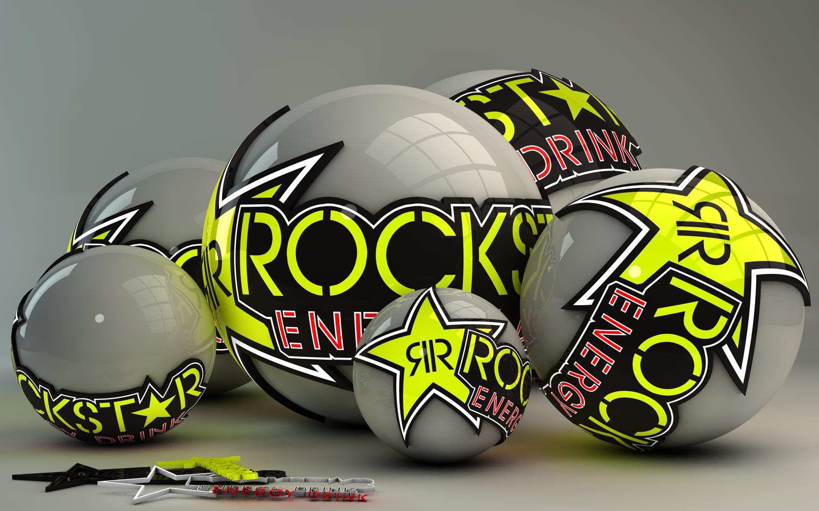 Rockstar Energy Drink Logo Wallpaper Rockstar energy drink logo 1680x1050
