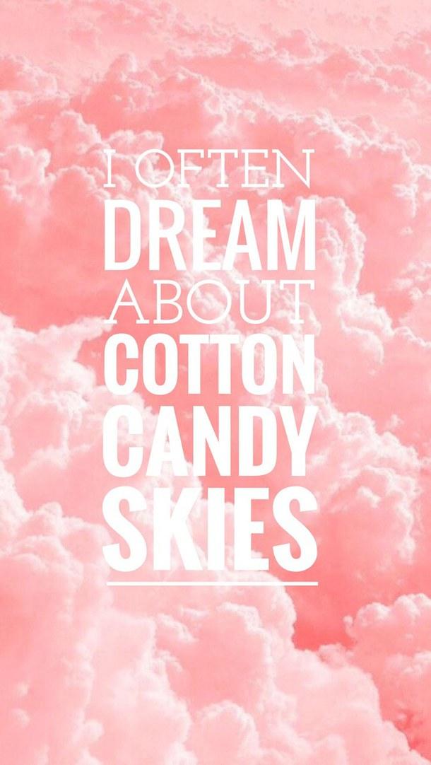 Cute Cotton Candy Wallpaper Wallpapersafari
