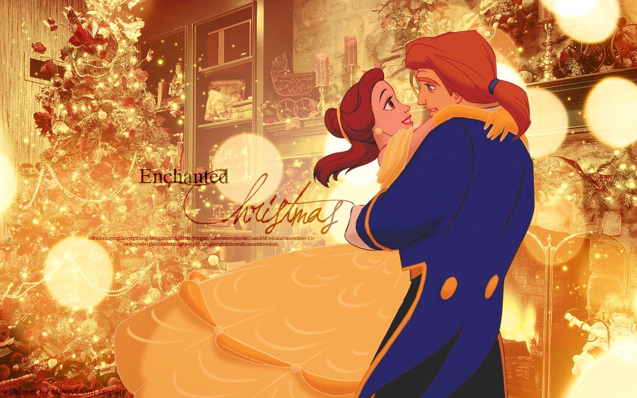 Disney Princess Chritmas   Disney Princess Christmas Wallpaper 1280x800