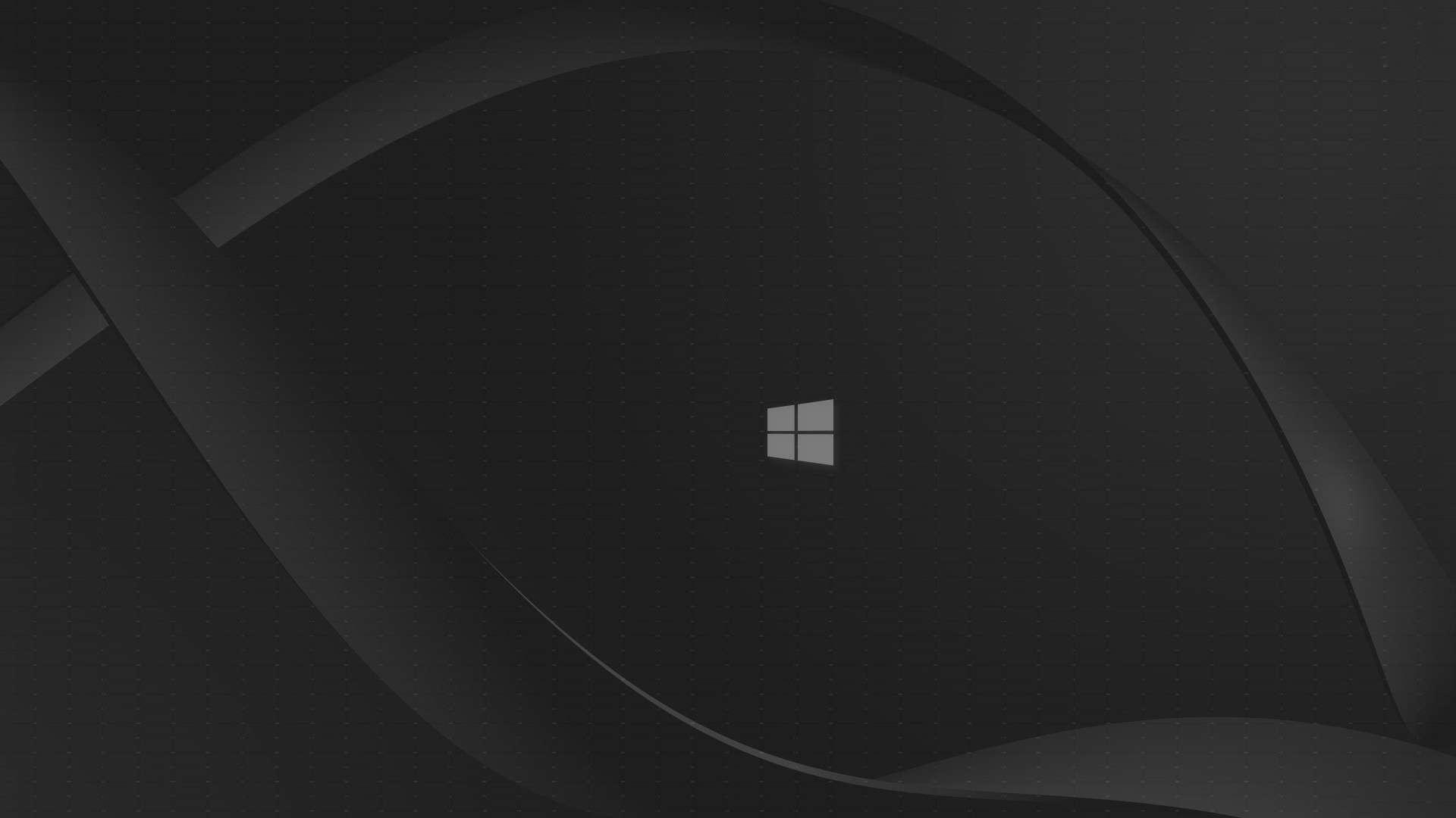 Black Windows Wallpaper 1080p: Windows 10 Wallpaper HD 1080p