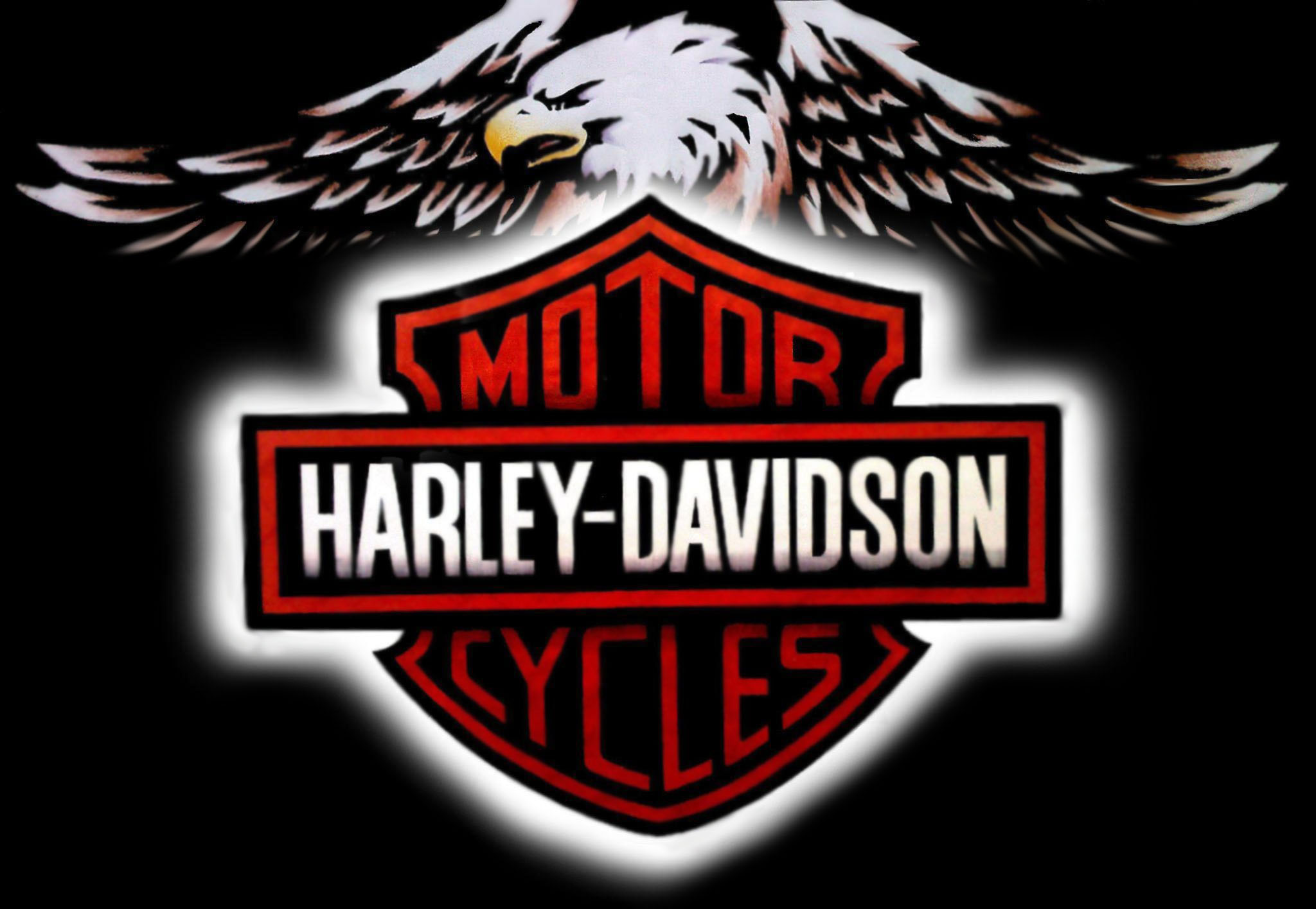 Gallery For gt Harley Davidson Logo Wallpaper 2048x1416