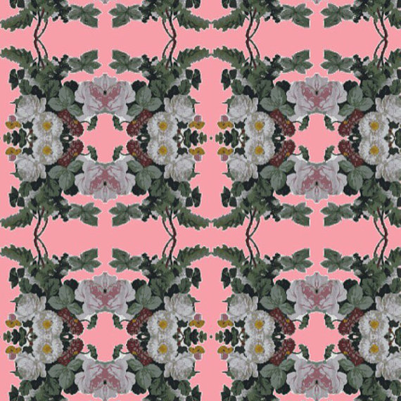 Repositionable removable wallpaper by Barbeline on Etsy 570x570