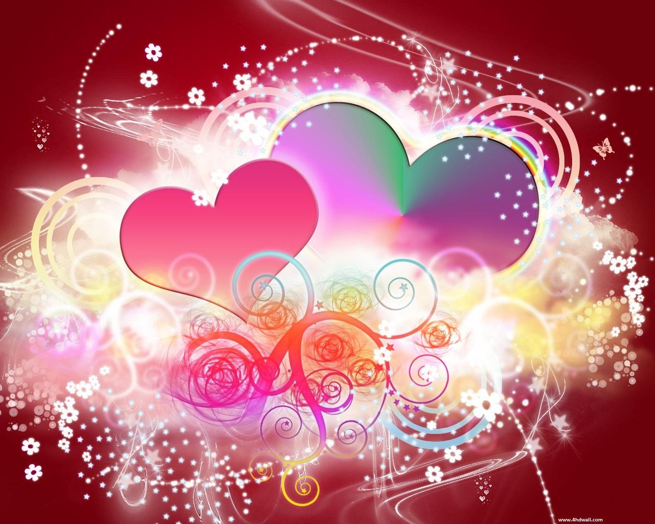 Beautiful Valentine Wallpapers Neptunes Dreams 1280x1024