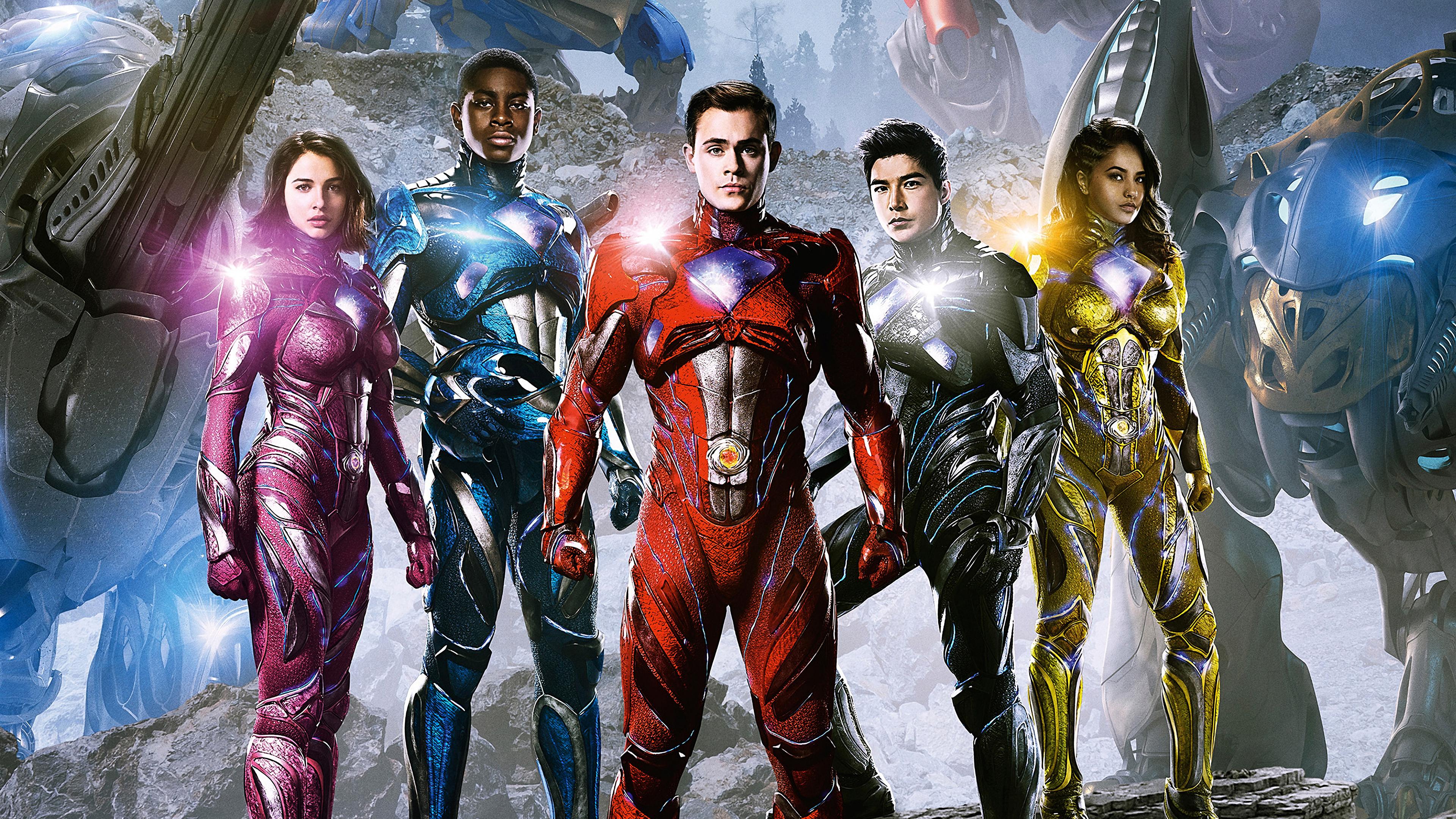 Wallpaper 4k Power Rangers Movie 2017 movies wallpapers 4k 3840x2160