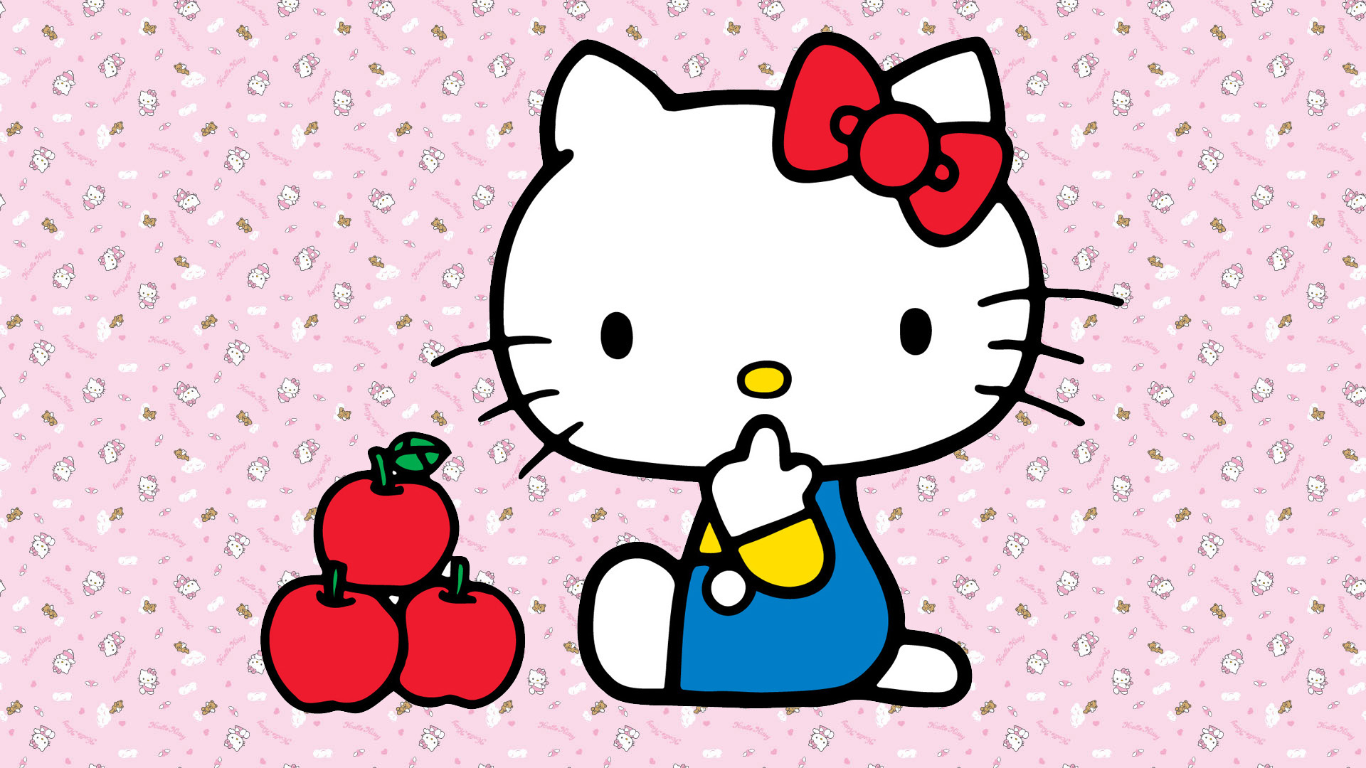 hello kitty desktop wallpaper HD 1920x1080