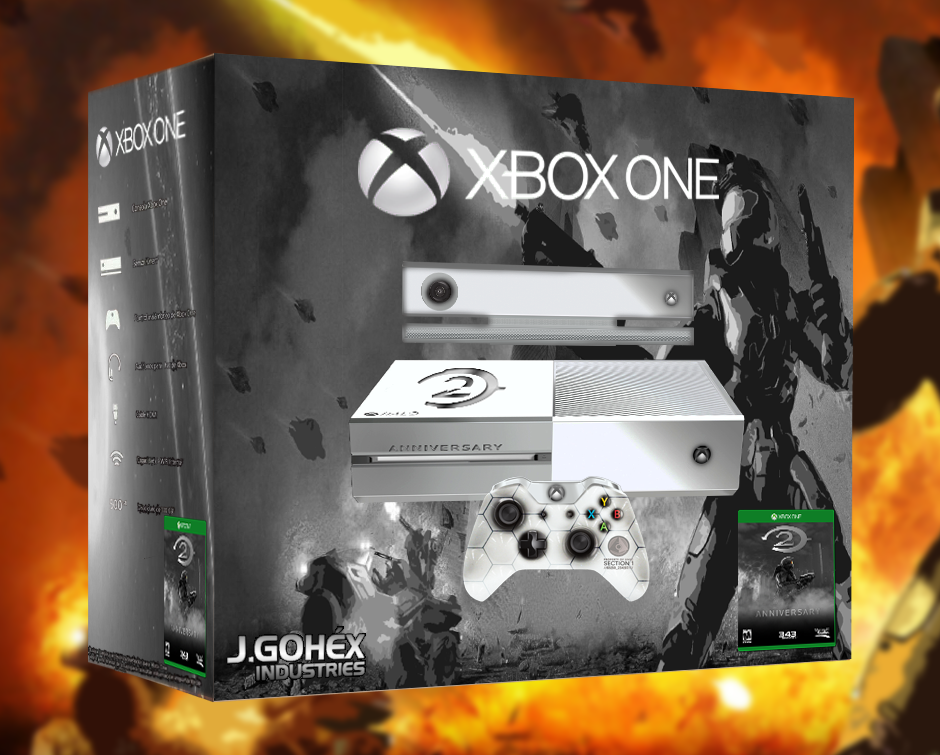 Xbox One Halo 2 anniversary by JohnGohex 940x755