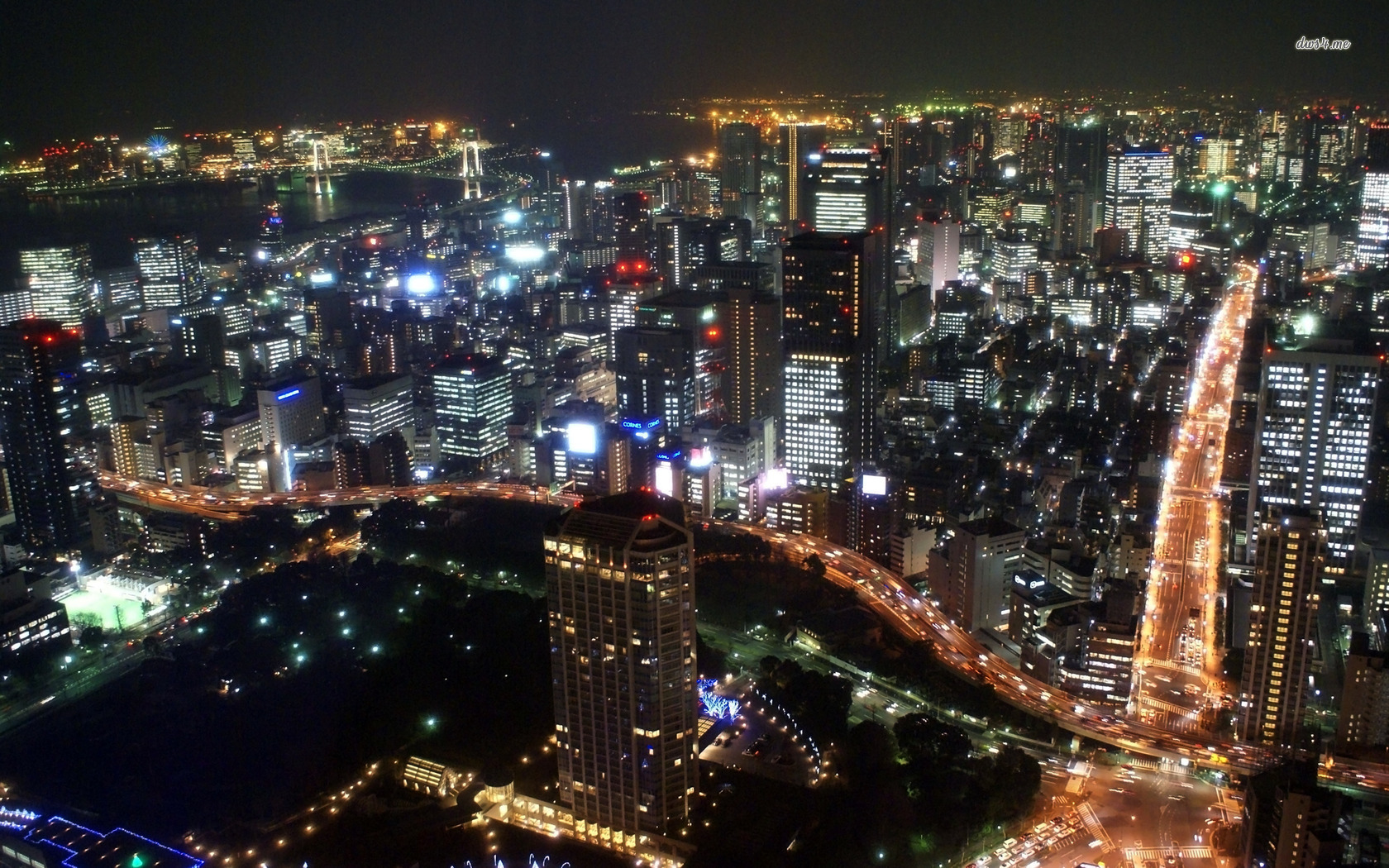 Tokyo at night wallpaper   World wallpapers   9404 1680x1050