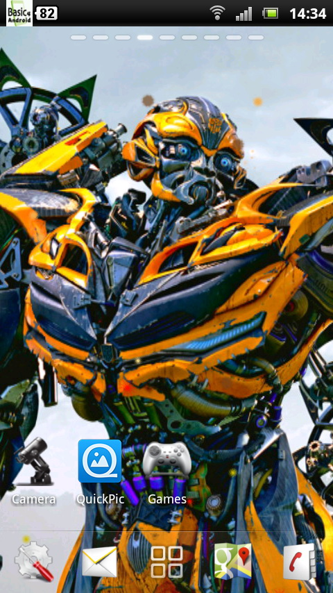 Download Transformers 4 Live Wallpaper 4 for your Android phone 480x854
