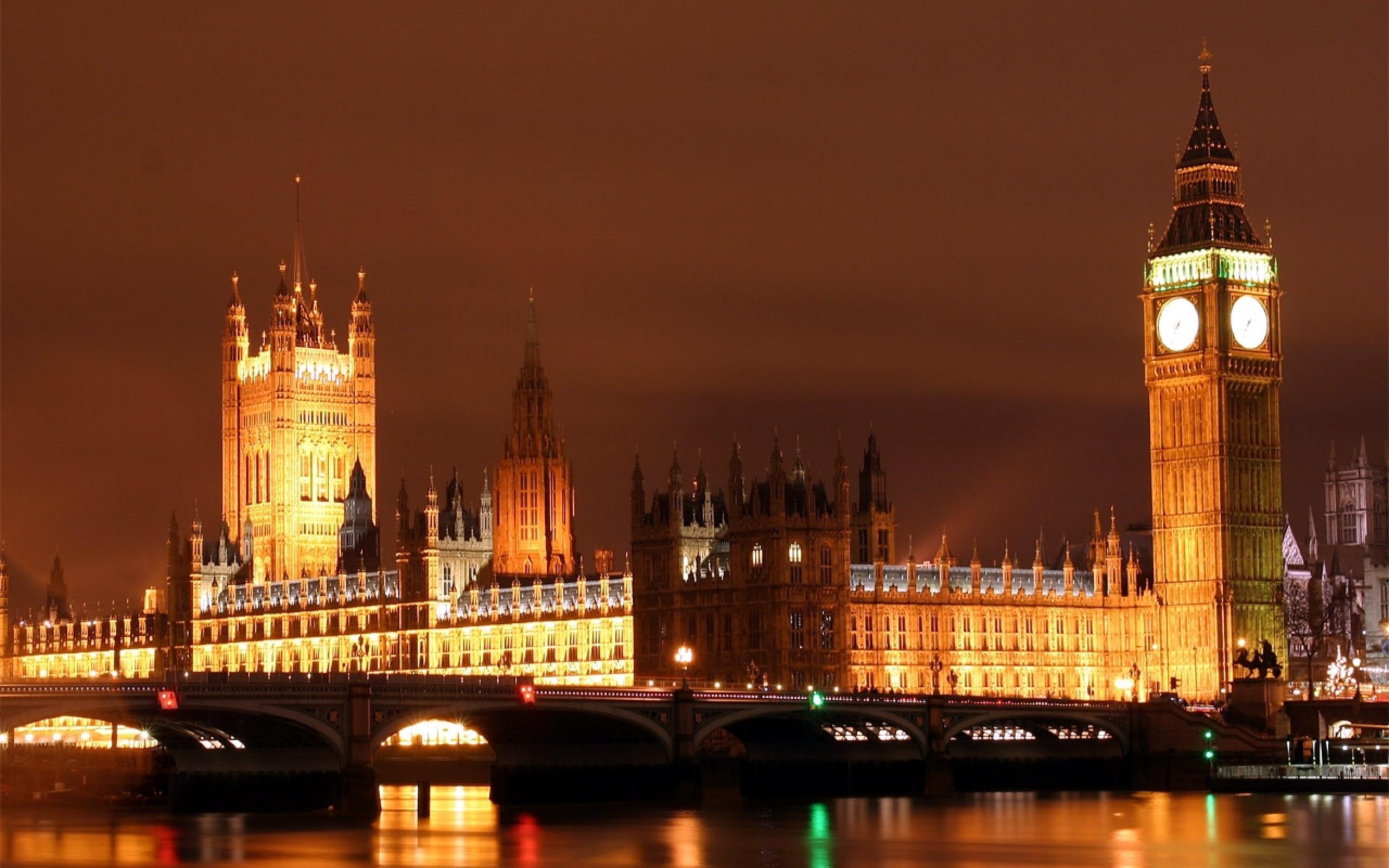 Big Ben At Night Wallpapers   2560x1600   888170 2560x1600
