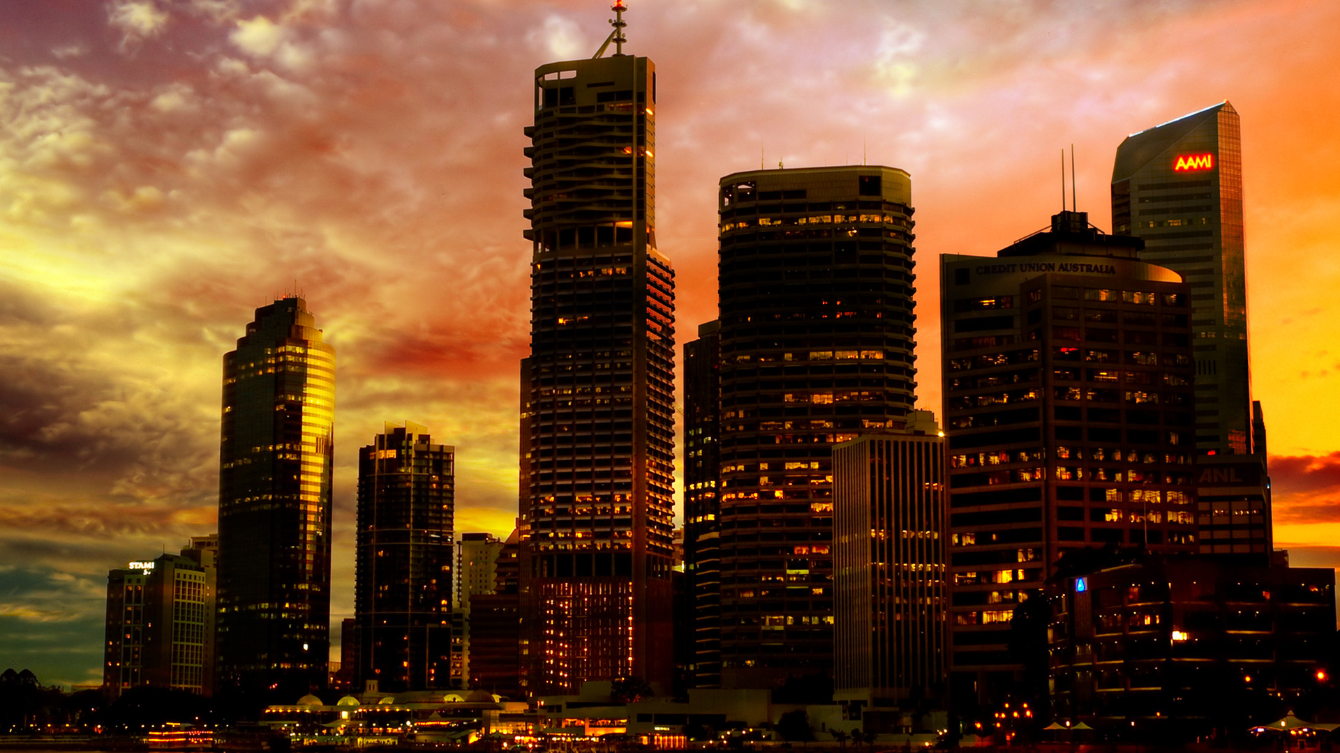 City Backgrounds wallpaper Sunset City Backgrounds hd wallpaper 1920x1080