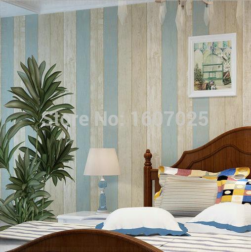 non woven modern Mediterranean wood wallpaper roll for wallswall 508x509