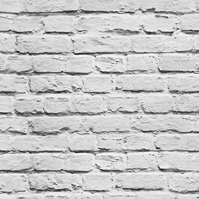 Wallpapers With Faux Painted Brushed Brick White Grey Brick Stone 800x800