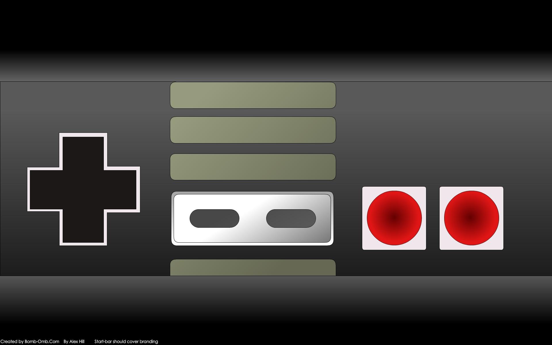 Nintendo Nes Wallpaper 1920x1200 Nintendo Nes Game Console 1920x1200