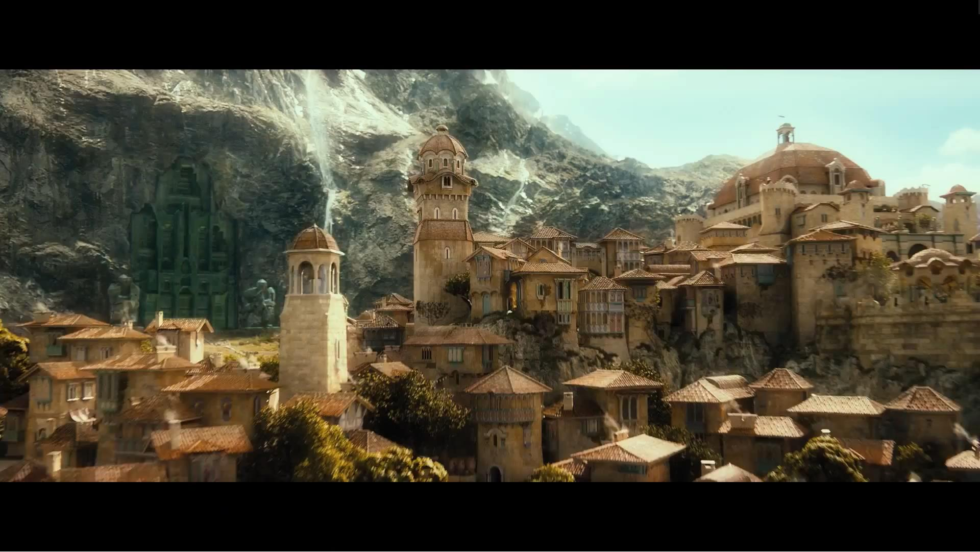 erebor s entrance in the background and it looks absolutely stunning 1920x1081