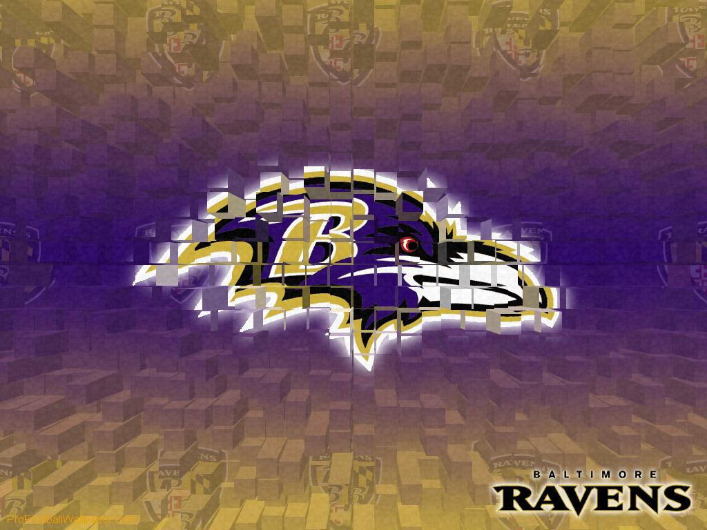 Download Baltimore Ravens wallpaper Baltimore Ravens 3D 1024x768