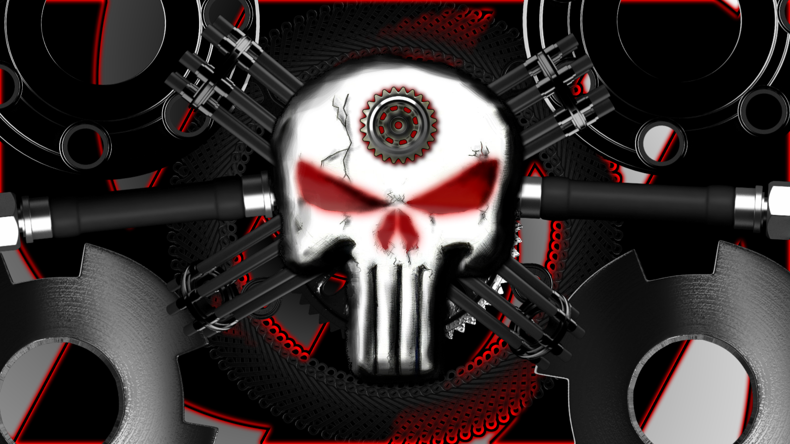 Steam Punk Punisher Logo Computer Wallpapers, Desktop ...