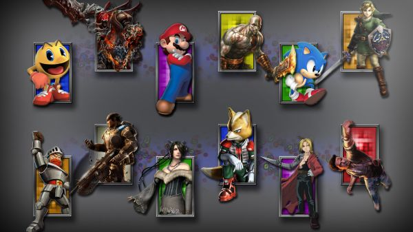 Classic Video Game Wallpapernew Wallpaper Video Game Characters X Blog 600x337
